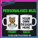 HAPPY ANNIVERSARY MUG WEDDING PERSONALISED GIFT ADD PICTURE / WRITING